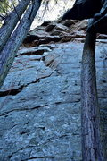 Rock Climbing Photo: Location: Climbers Left just out side of the Grand...