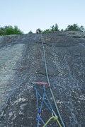 Rock Climbing Photo: Madigan, second pitch.