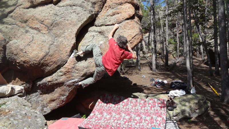 Rock Climbing Photo: Uh huh.