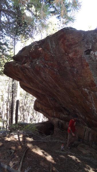 Rock Climbing Photo: Big.