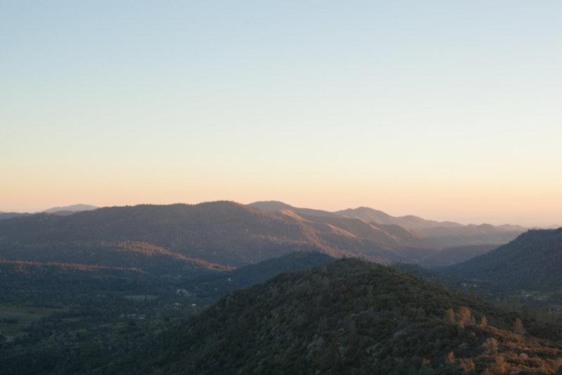 Sunset views of Tollhouse