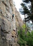 Rock Climbing Photo: Jay's Route.