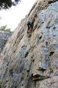 Rock Climbing Photo: Unknown 11b.