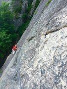 Rock Climbing Photo: Thin Air