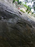 Rock Climbing Photo: Thin Air 1st Pitch