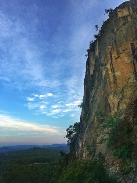 Rock Climbing Photo: Cathedral at Sunset