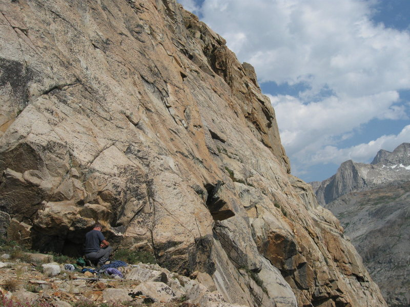 Rock Climbing Photo: Looking from the Pinto Wall toward the Spring Lake...