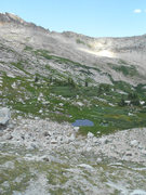 Rock Climbing Photo: The second pond you pass coming from North Pole Ba...