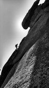 Rock Climbing Photo: Derek on the second pitch.