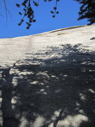 Rock Climbing Photo: Start of 36 Views'.   Cross the roof at the th...