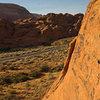Caroline Plouff Zion National Park Climbing