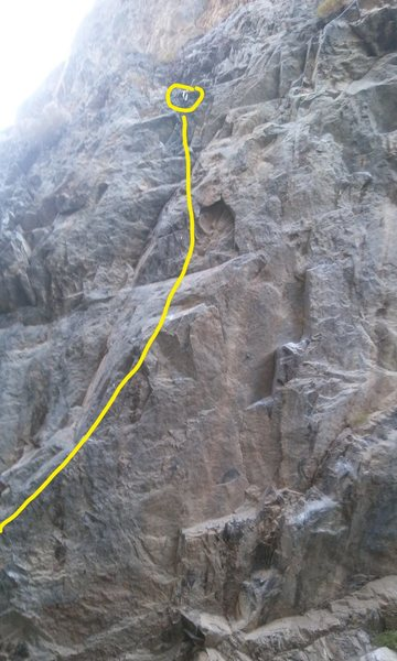 Rock Climbing Photo: edge climb. real fun