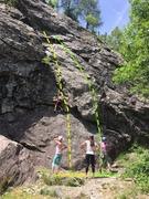 Rock Climbing Photo: The Diamant section of La Joux