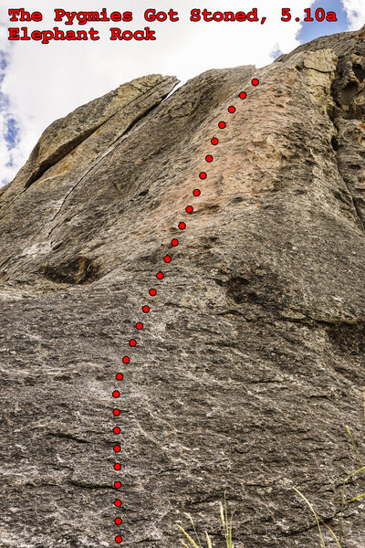 Rock Climbing Photo: The Pygmies Got Stoned