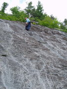 "Rock Climbing Photo: P2 - ""Follow the easiest line""...35-40 f..."