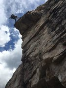 Rock Climbing Photo: Derrick onsights