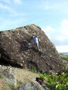 Rock Climbing Photo: Meteor blast...