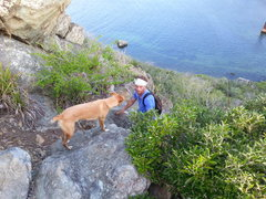 Rock Climbing Photo: Nino and me...