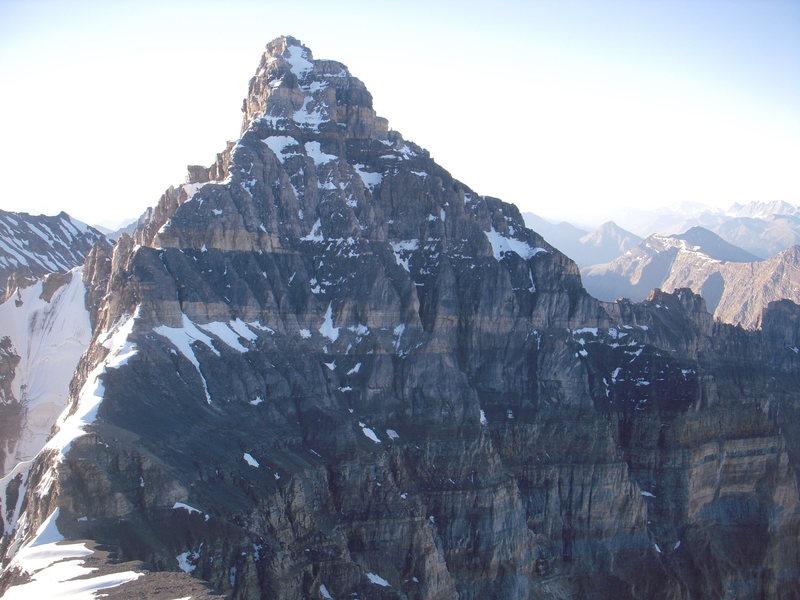 Rock Climbing Photo: Deltaform from summit of Neptuak