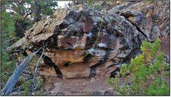 Rock Climbing Photo: Atomic Joy beta.