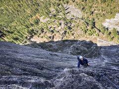 Rock Climbing Photo: Photo credit: Mike Kavanaugh Me climbing Corrugati...