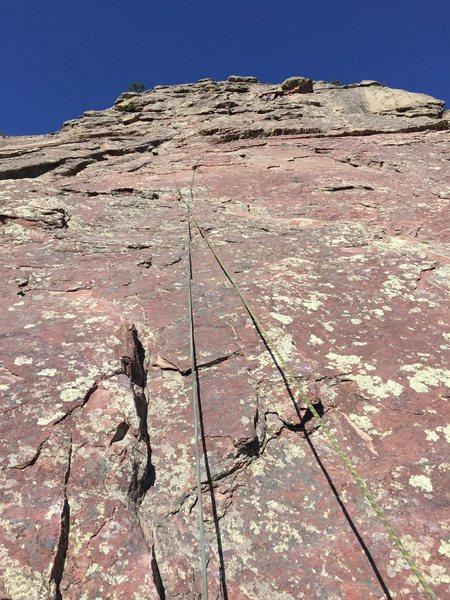 Rock Climbing Photo: 1st flatiorn