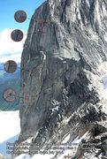 Rock Climbing Photo: Climbers on Sunshine Crack.