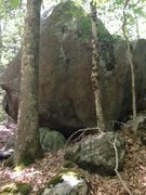 Rock Climbing Photo: New boulder.