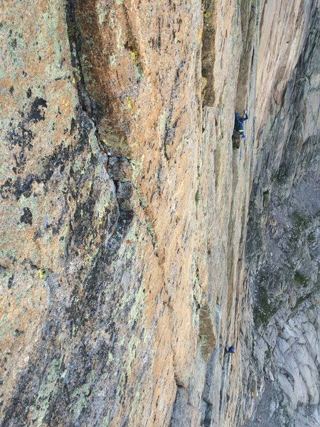 A party on the last or second to last pitch (?). Taken from the rap route....