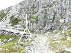 Rock Climbing Photo: Head up to brimstone head trail the go right when ...