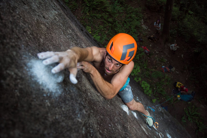 Rock Climbing Photo: Finishing up on Orangutan.  Photo by @radam_gnawro...