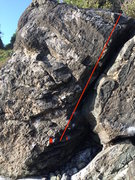 Rock Climbing Photo: Follow the Arete watch out for any Chossiness.