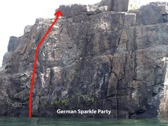 Rock Climbing Photo: German Sparkle Party V1