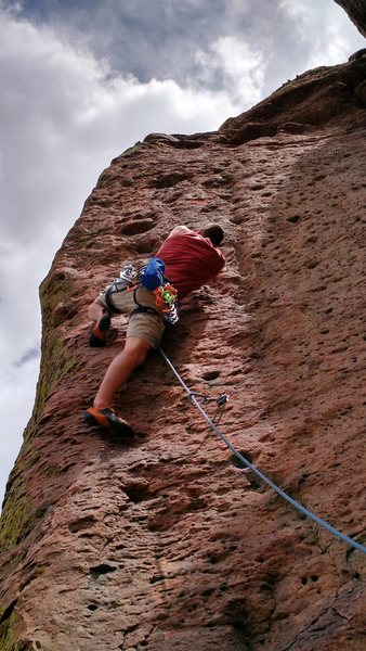 Rock Climbing Photo: Getting hooked on the Jugs