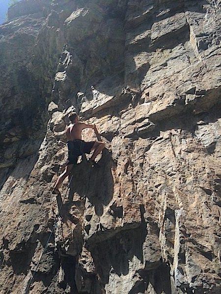 Rock Climbing Photo: Hill.