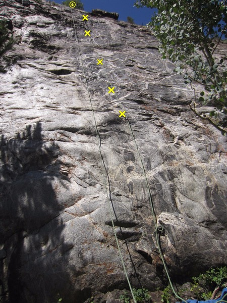 Rock Climbing Photo: Smooth start.
