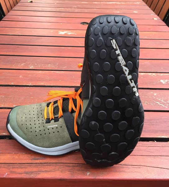 Full stealth rubber sole