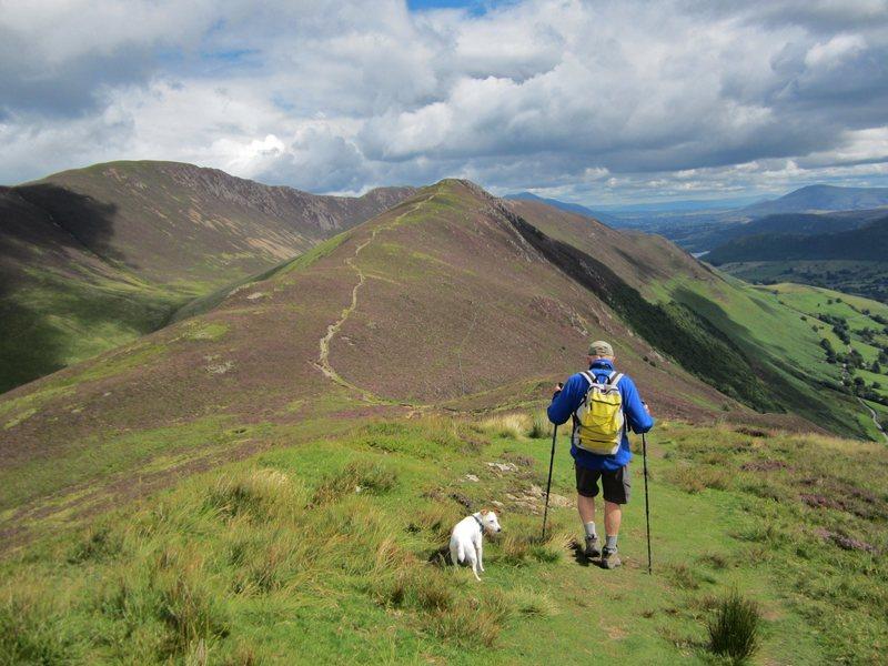 Ardcrag ridge Newlands Valley