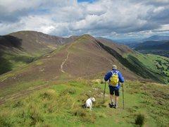 Rock Climbing Photo: Ardcrag ridge Newlands Valley