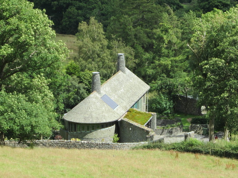 Unusual Lakeland slate house...