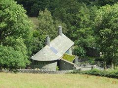 Rock Climbing Photo: Unusual Lakeland slate house...
