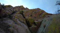 Rock Climbing Photo: Pitch 3. Photo Meghan Curry.