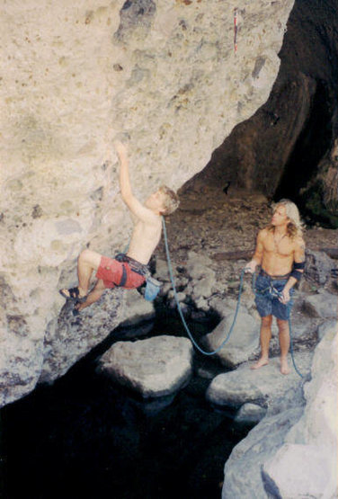 Rock Climbing Photo: Skeezer Pleaser