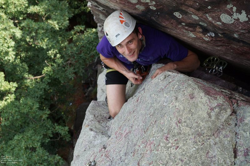 Rock Climbing Photo: Alex and the #6 C4