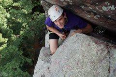 Rock Climbing Photo: Alex and the #6 C4