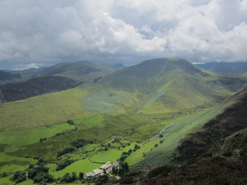 Rock Climbing Photo: Looking down on the Newlands valley