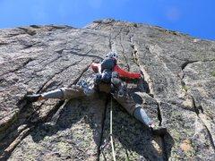 Rock Climbing Photo: Pitch 8.