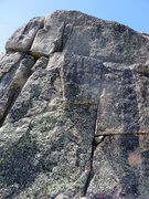 Rock Climbing Photo: Pitch 10.
