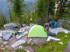 Rock Climbing Photo: Boulder Camp, just past and downhhill from Kain Hu...