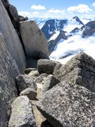 Rock Climbing Photo: Surf's Up Ledge.